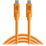کابل  Tether Tools TetherPro USB Type-C Male to USB Type-C Male Cable (15', Orange):CUC15-ORG